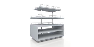 Мебель по индивидуальному дизайн-проекту для магазинов - преимущества для бизнеса