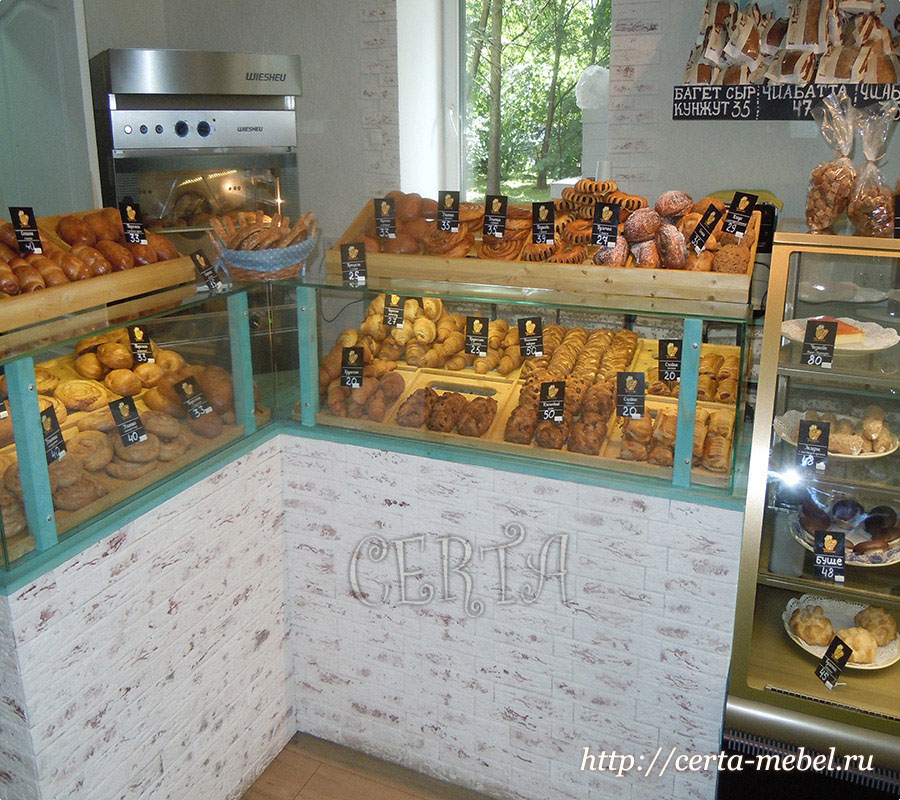 Мебель для пекарни