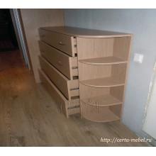 шкаф-купе четырехдверный