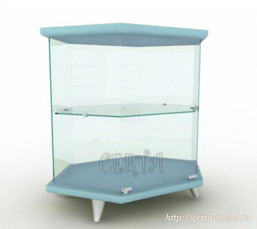 прилавок стеклянный