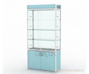Витрина профильная со стеклом Еврошоп ALS-11