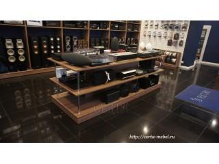 Торговое оборудование для магазина акустики