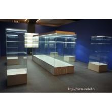 выставочные стеклянные витрины