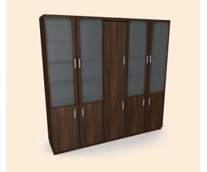 Шкаф с дверцами и накопителем