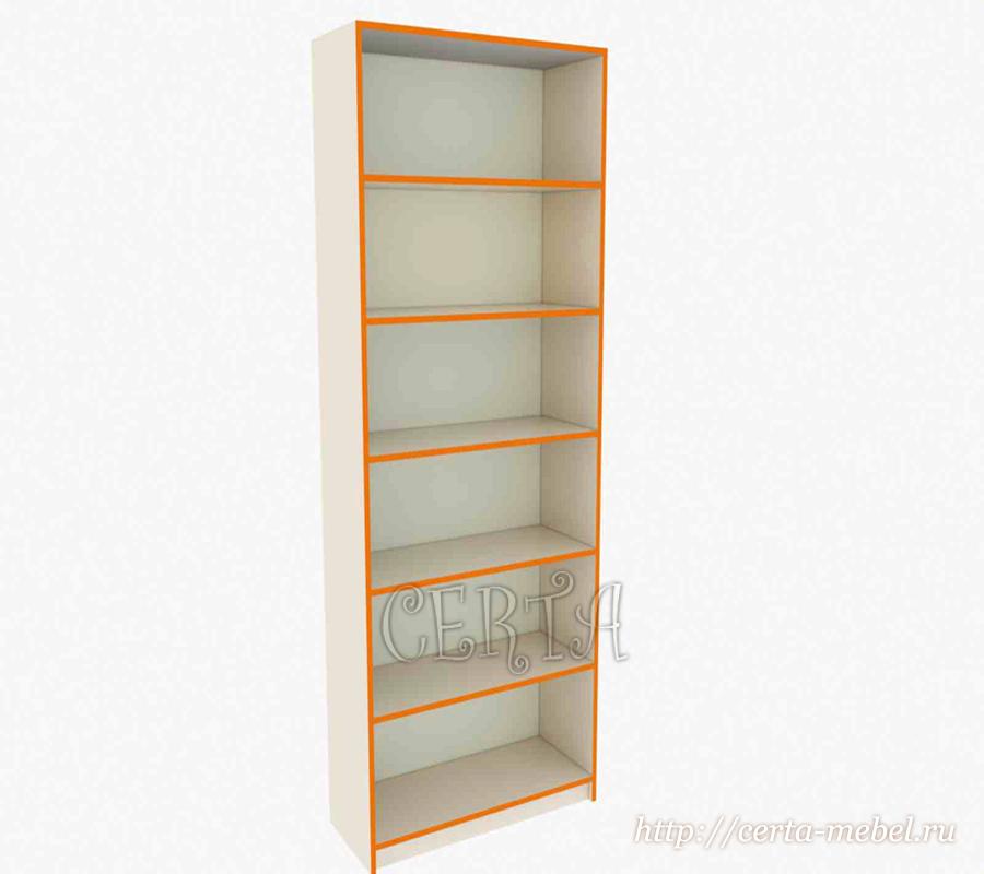 Стеллаж простой, купить стеллаж для аптеки СПб, торговое оборудование Санкт-Петербург