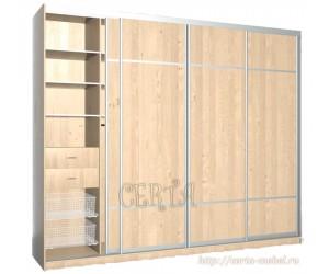 Шкаф-Купе 4 двери