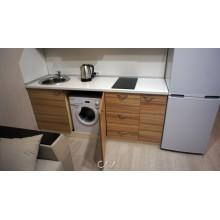 Кухня для студии прямая