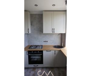 """Кухня угловая """"Модерн с крашенными фасадами """""""
