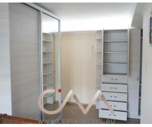 Комплект шкафов с зеркалом