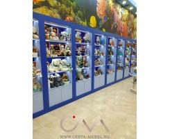 Торговая мебель для магазина Морские сувениры