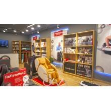 Мебель для массажного салона на заказ, оборудование для  магазина товаров для массажа.