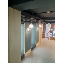 Стеновые шпонированные панели